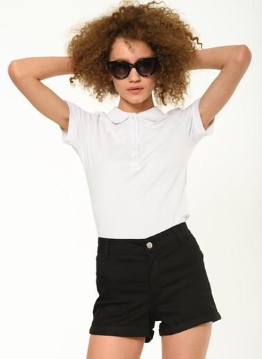 Fashion Friends Polo Yaka Tişört Bej